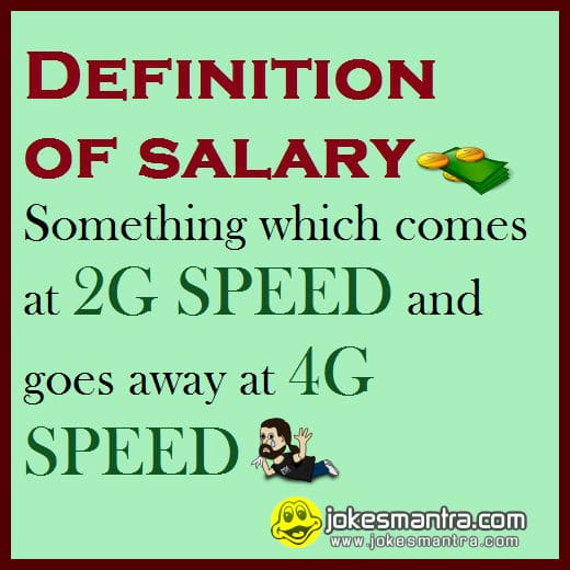 funny salary jokes whatsapp and facebook